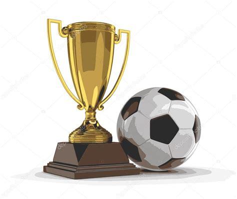 Vector de la imagen del trofeo de la Copa y fútbol fútbol ...