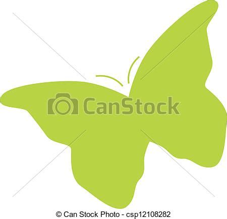 Vector de mariposa, silueta   silueta, de, mariposa ...