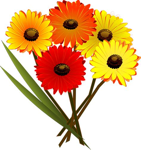Vector gratis: Bouquet, Ramo De Flores, Flores   Imagen ...