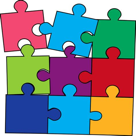 Vector gratis: Puzzle, Color, Juego   Imagen gratis en ...