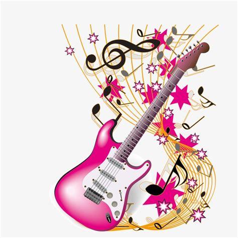 Vector Guitarra Y Notas Musicales, Guitarra, NOTA, Musica ...