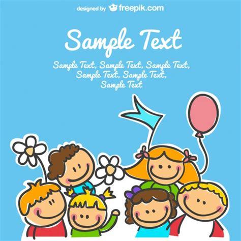 Vector niños felices | Descargar Vectores gratis