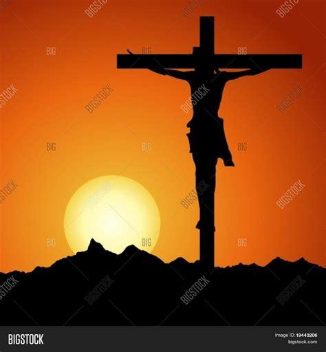 Vector y foto Jesús Cristo Crucificado En Vector | Bigstock