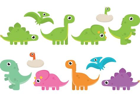Vectores de dinosaurio de dibujos animados   Descargue ...