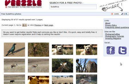 Veezle, buscador de imágenes libres | Gizmos
