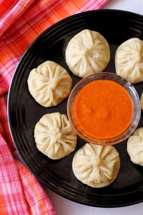 Vegetarian Momos Recipe — Dishmaps