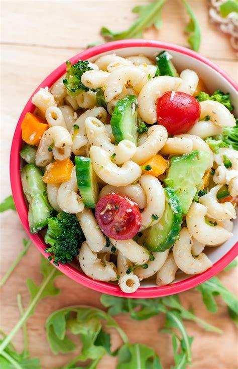 veggie pasta salad with italian dressing recipe