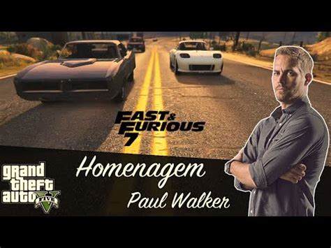 Velozes & Furiosos 7    See You Again    Paul Walker Ho ...
