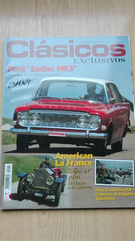 Vendo revistas: Coches clÁsicos, motor clÁsico, clÁsicos ...