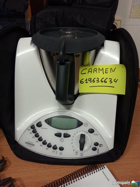 [VENDO] Robot de cocina, Thermomix Tm31 como nueva