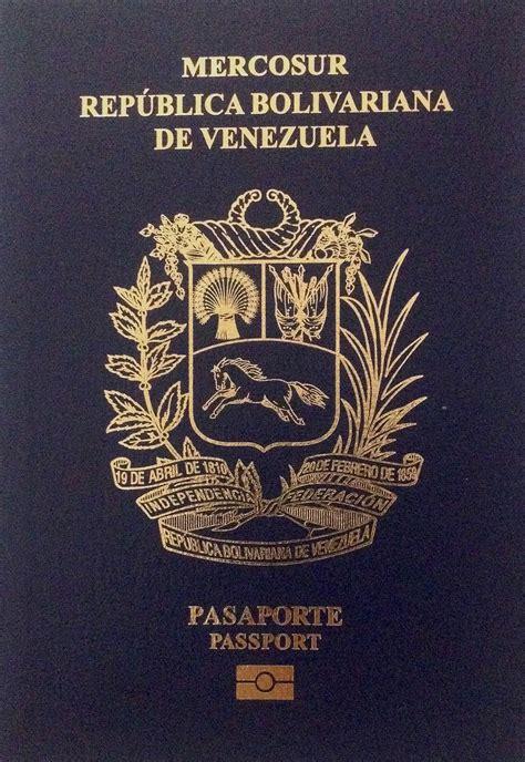 Venezuelan passport   Wikipedia
