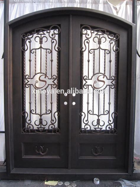 Venta al por mayor puertas baratas de hierro-Compre online ...
