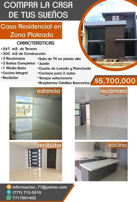 VENTA DE CASA EN PACHUCA CAV224081