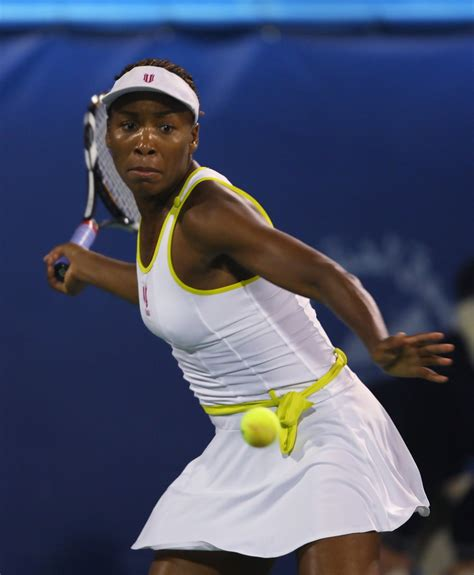 Venus Williams Photos Photos   WTA Barclays Dubai Tennis ...