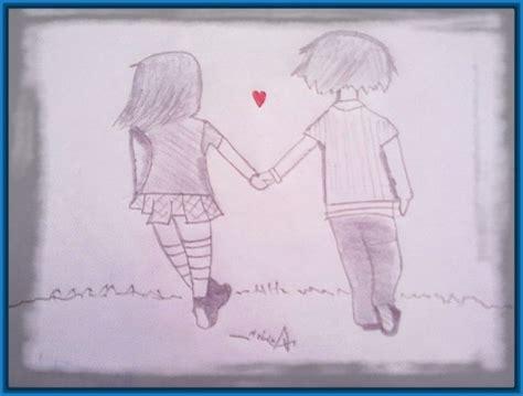 ver dibujos a lapiz de parejas Archivos | Dibujos de Amor ...