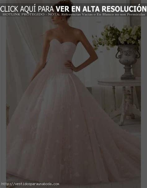 Ver Fotos de Vestidos de Novia de Encaje Corte Princesa