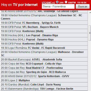 Ver fútbol gratis: Streamer TV y RojaDirecta.