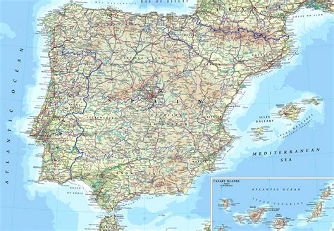 Ver Mapa De España | threeblindants.com