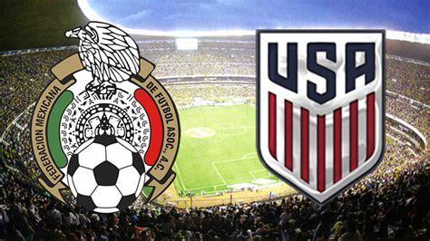 VER México vs. Estados Unidos EN VIVO ONLINE DIRECTO ...