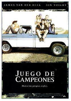 Ver película Juego de campeones online latino 1999 VK ...
