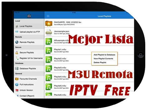 Ver tv de paga gratis - Como configurar listas m3u remotas ...