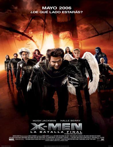 Ver X-Men 3: La decisión final (2006) online