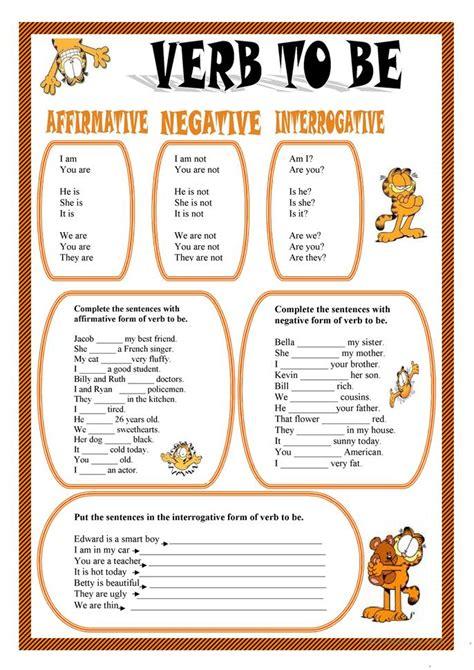 VERB TO BE worksheet - Free ESL printable worksheets made ...