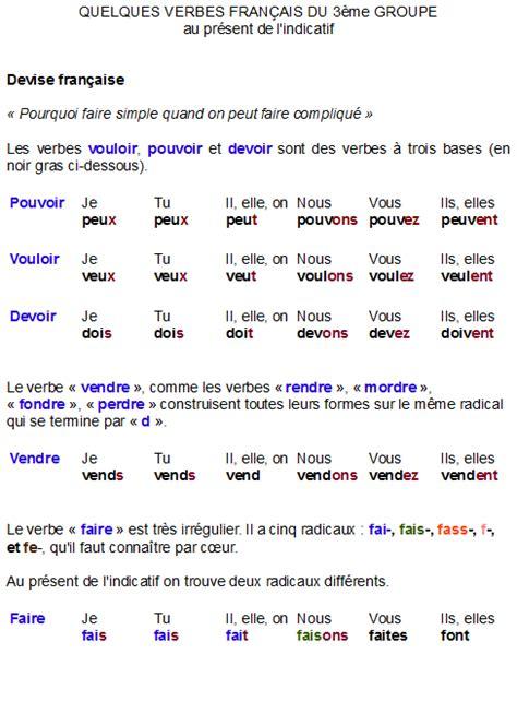 verbes - | conjugaison en français | Pinterest ...