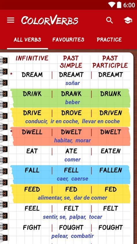 Verbos Irregulares Ingles - Aplicaciones Android en Google ...
