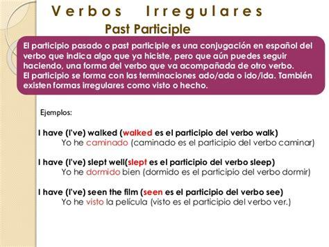 Verbos Regulares e Irregulares Ingles