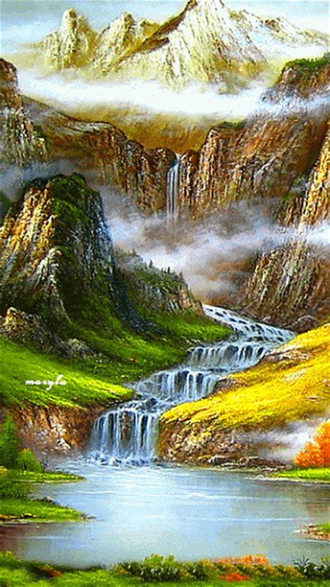 Verdaderos diseños de imagenes de paisajes en movimiento ...