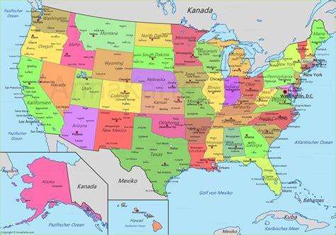 Vereinigte Staaten Karte | USA Landkarte   AnnaKarte.com