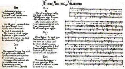Versión Original del Himno Nacional Mexicano | Lo hecho en ...