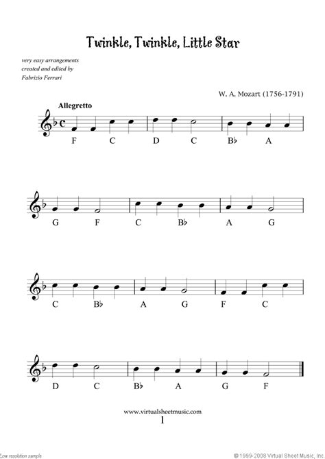 Very Easy Collection, part I sheet music for trumpet solo