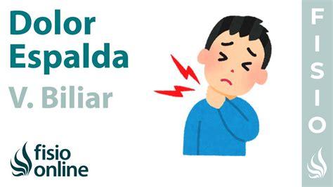 Vesícula biliar y dolor de espalda dorsal y cervical ...