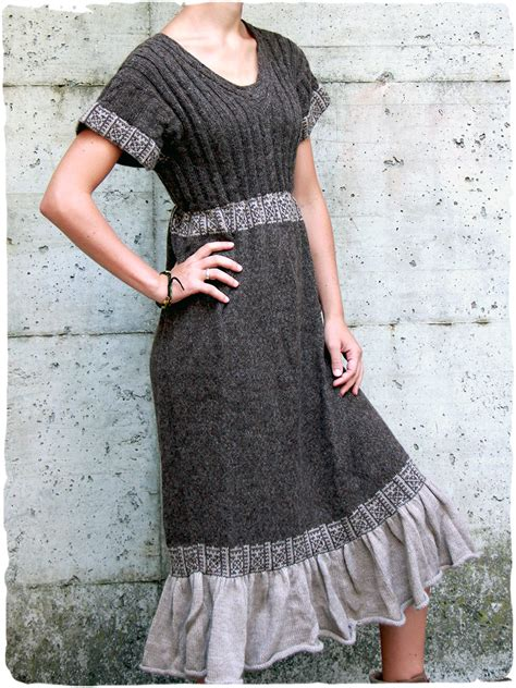vestido etnico Solange   Vestidos de lana online   La Mamita