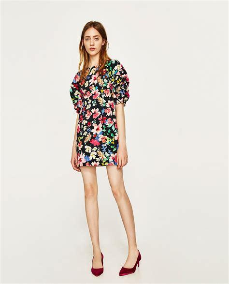 VESTIDO FLORES | Zara mujer vestidos, Zara y Primavera