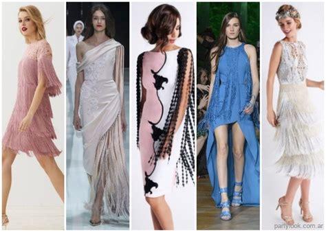 Vestidos con flecos largos - moda verano 2019 - tendencias ...