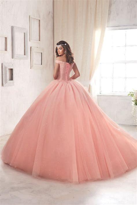Vestidos de 15 años color rosa | Tendencias 2018 - 2019