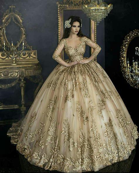 Vestidos de 15 color dorado | Los mejores vestidos de ...