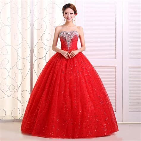 Vestidos de 15 Color Rojo