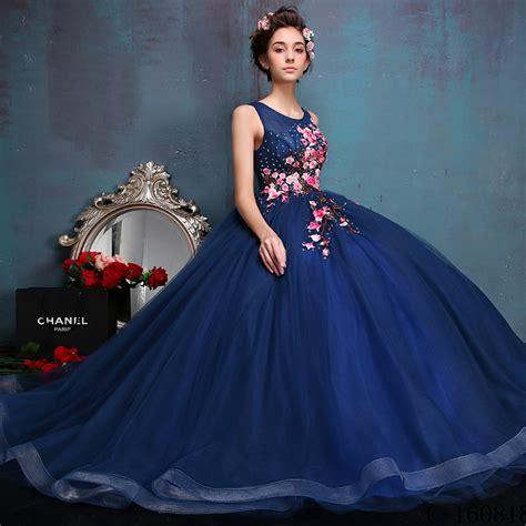 Vestidos de XV años » Vestidos de xv estampados 2017 1