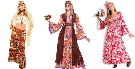 vestidos estilo hippie anos 70   Homem Feito