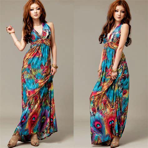 vestidos hippies largos 2012