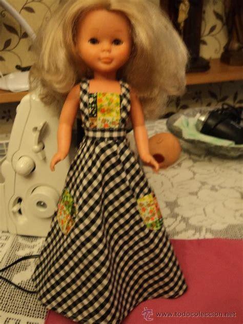 vestidos mueca nancy anos 70