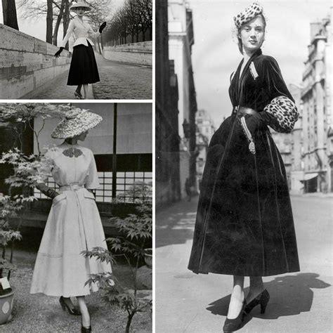 vestidos y peinanos de los anos 40
