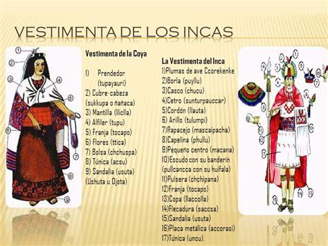 Vestimenta De Los Incas | trajes tipicos del peru ...