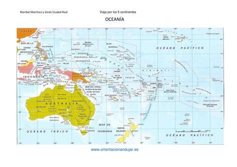 Viaja por los cinco continentes Los países y sus capitales ...
