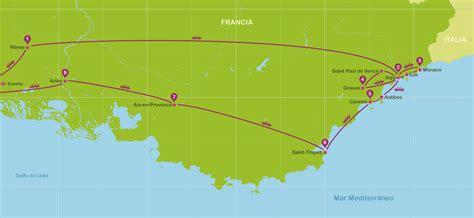 viajar a Provenza Costa Azul en Coche en una semana