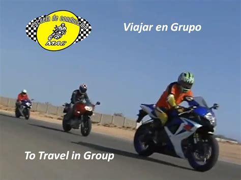 Viajar en Grupo   Escuela de Motos MAC   YouTube
